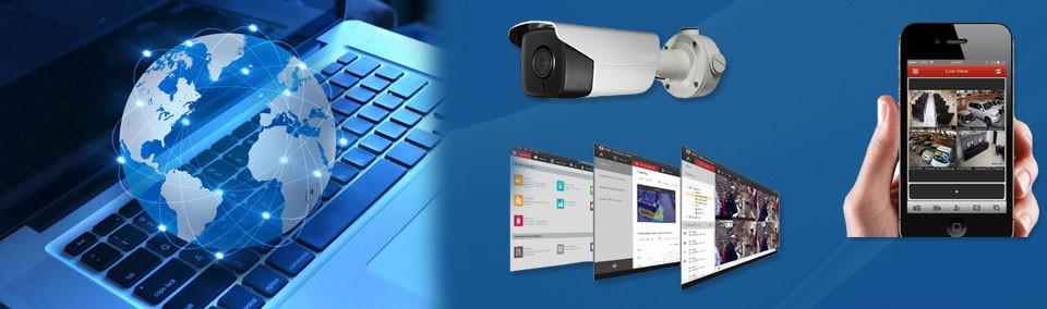 يمكن توصيل كاميرات المراقبة بالإنترنت